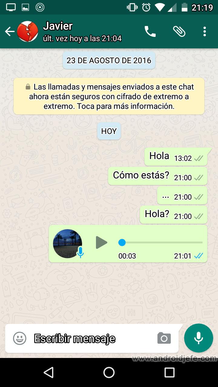 Qué Significan Las Palomitas De Whatsapp Android Jefe