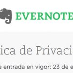 Evernote promete que sus empleados NO leerán las notas de los usuarios