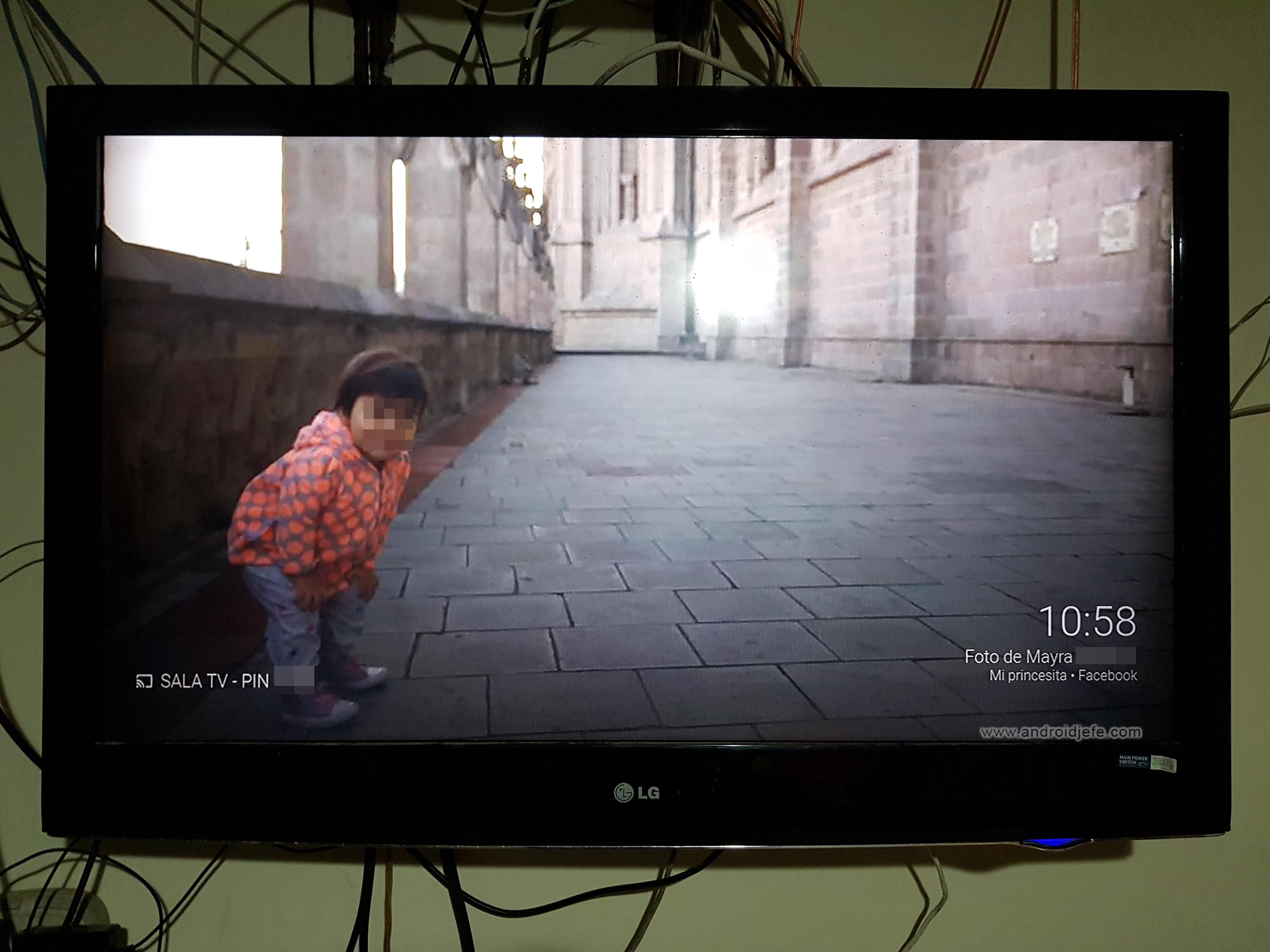 Cómo poner TUS fotos como fondo de pantalla en la TV, vía Chromecast