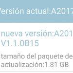 Ya disponible para descargar la actualización Nougat para el ZTE Axon 7