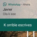 Así puedes responder tus WhatsApp SIN SIQUIERA tener que desbloquear el celular