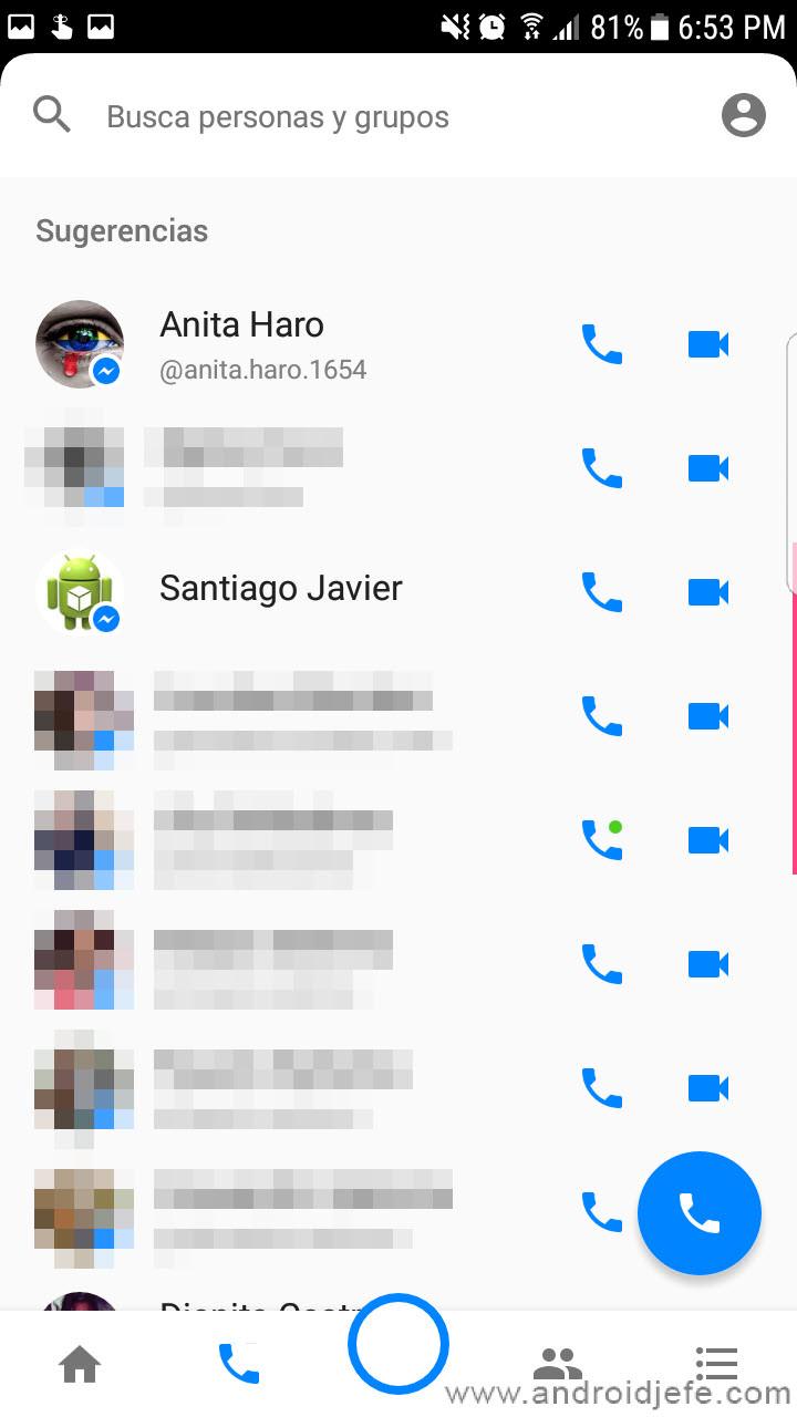 Cómo eliminar las Sugerencias de Messenger
