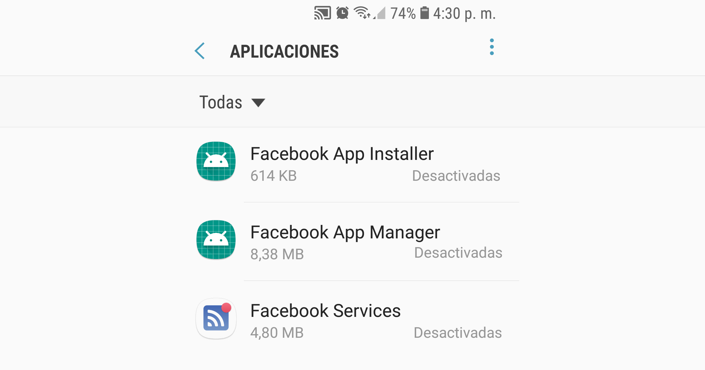 Facebook App Manager, o por qué Facebook se actualiza sola