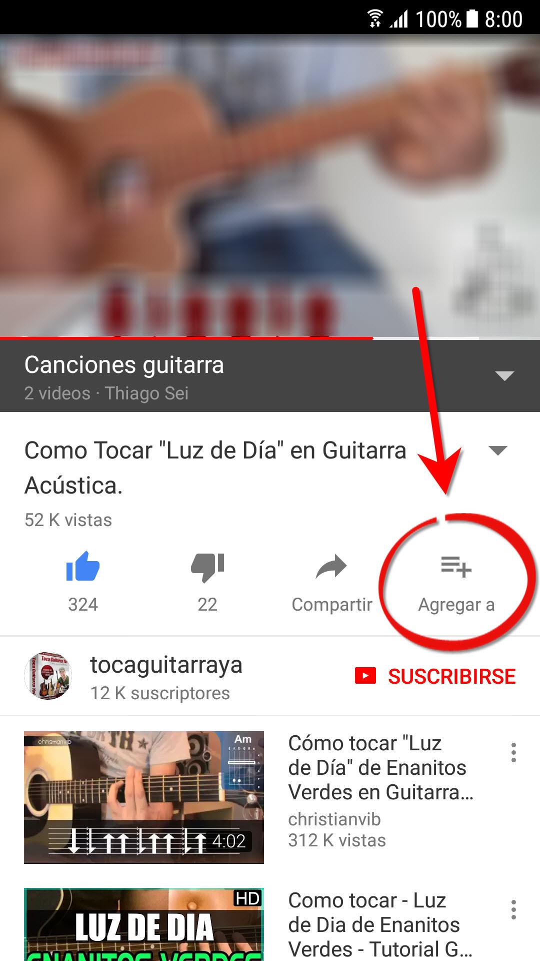 Cómo Ver Más Tarde Videos En Youtube Android Jefe