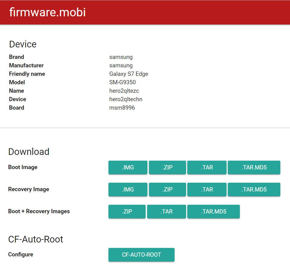 pagina para descargar firmware de alcatel