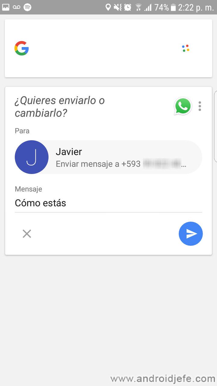 Cómo escribir mensajes por VOZ en Android