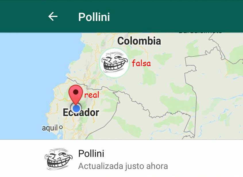 Cómo ENGAÑAR la ubicación en tiempo real de WhatsApp