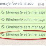 Truco para borrar mensajes de WhatsApp DESPUÉS de los 7 minutos