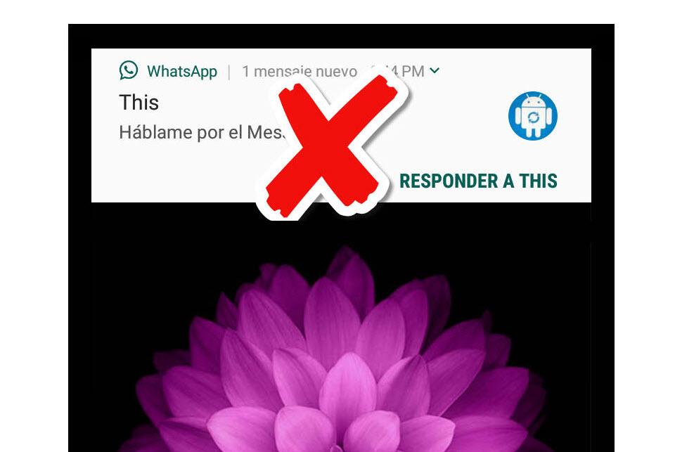 Cómo evitar que los mensajes de WhatsApp aparezcan en pantalla