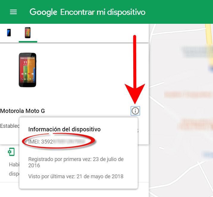 como localizar un celular robado sin chip