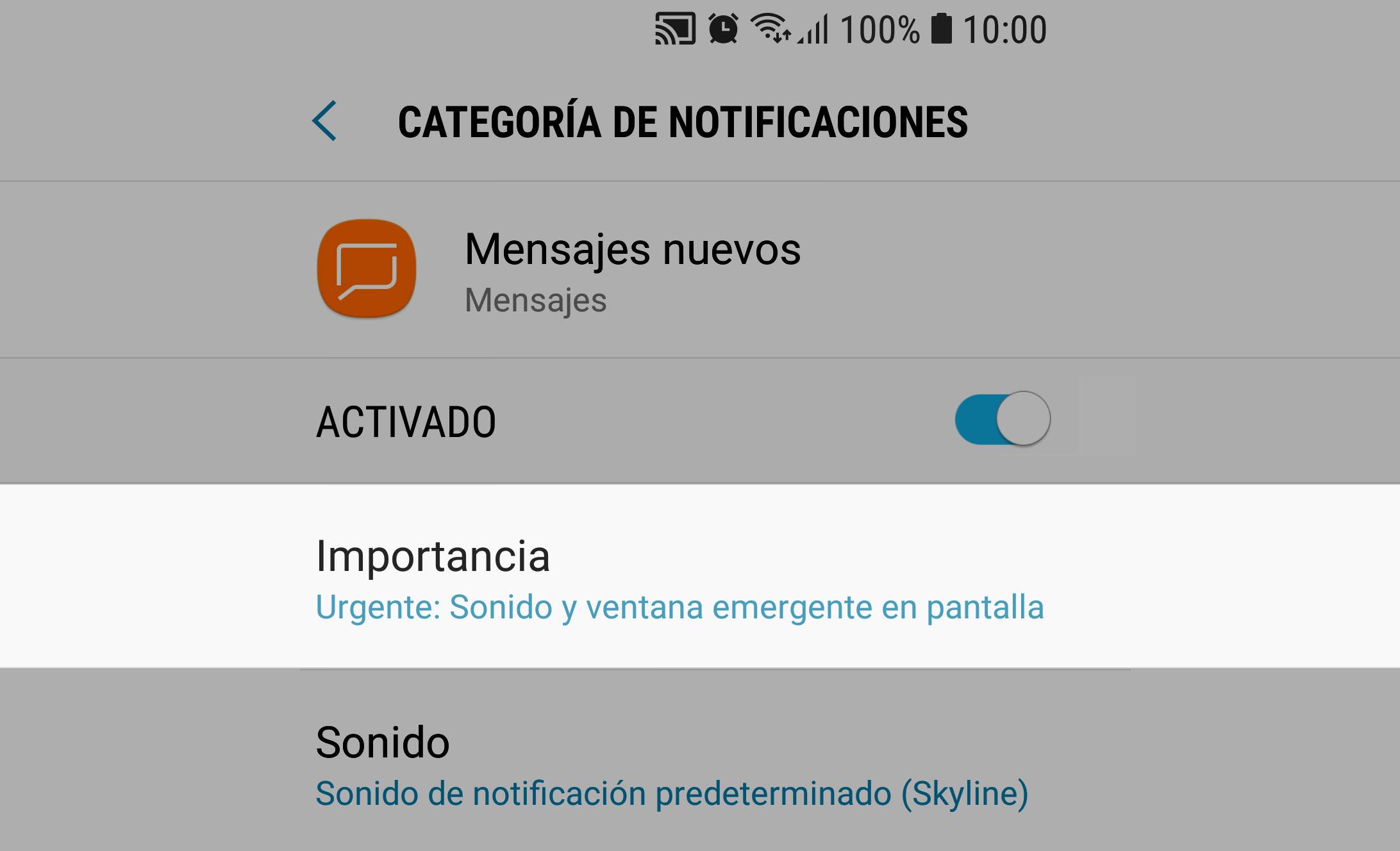 Cómo quitar las NOTIFICACIONES y su sonido en Android