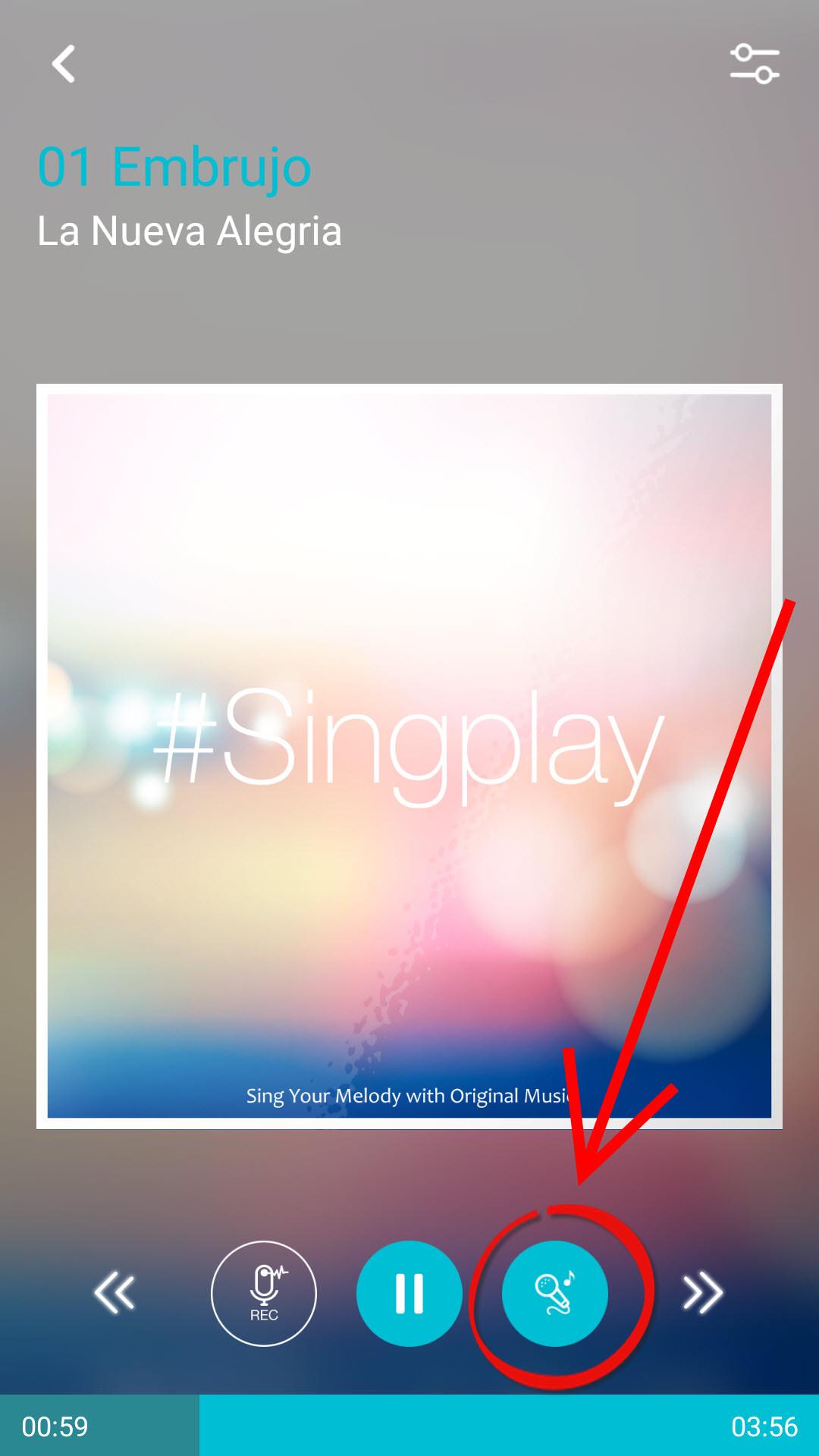 aplicacion para encontrar canciones android