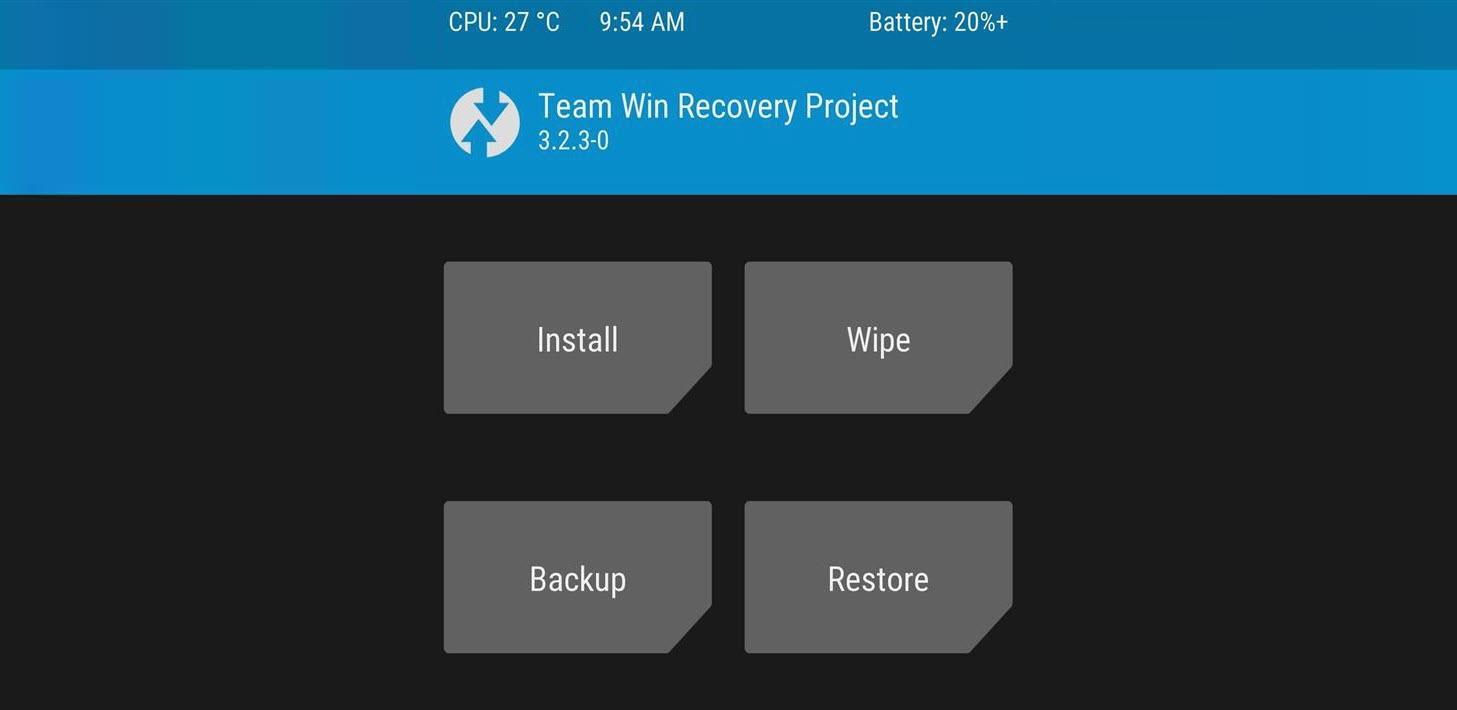 Cómo instalar un RECOVERY personalizado (TWRP, CWM)