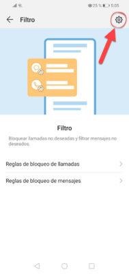 bloquear llamadas huawei filtro 2