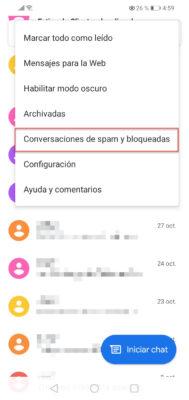 bloquear sms huawei 1