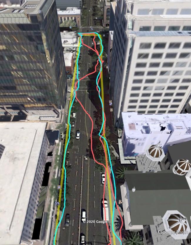 correcciones asistidas por mapeo 3d google