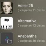Reproductor de música por CARPETAS para Android