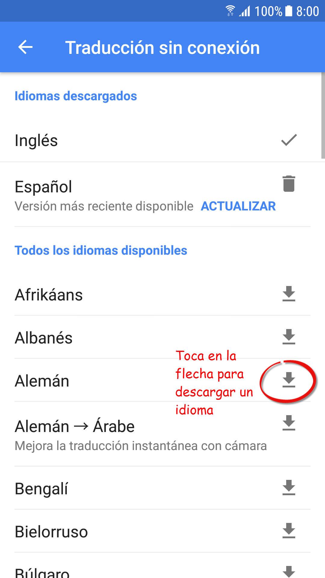 Flecha en ingles translate