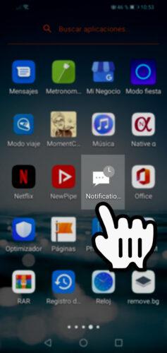 como ver las notificaciones borradas en android app