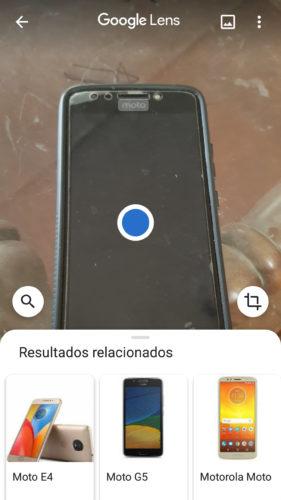 google lens reconocer objetos