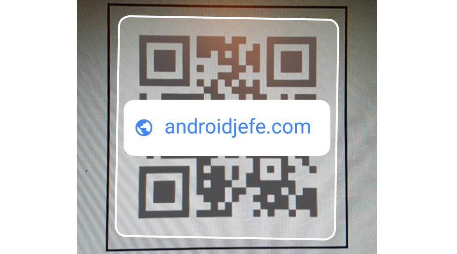 Google te permite leer códigos QR con la cámara del celular