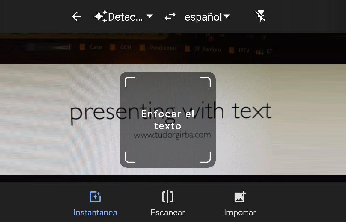 Cómo traducir con la CÁMARA, por fotos o imágenes