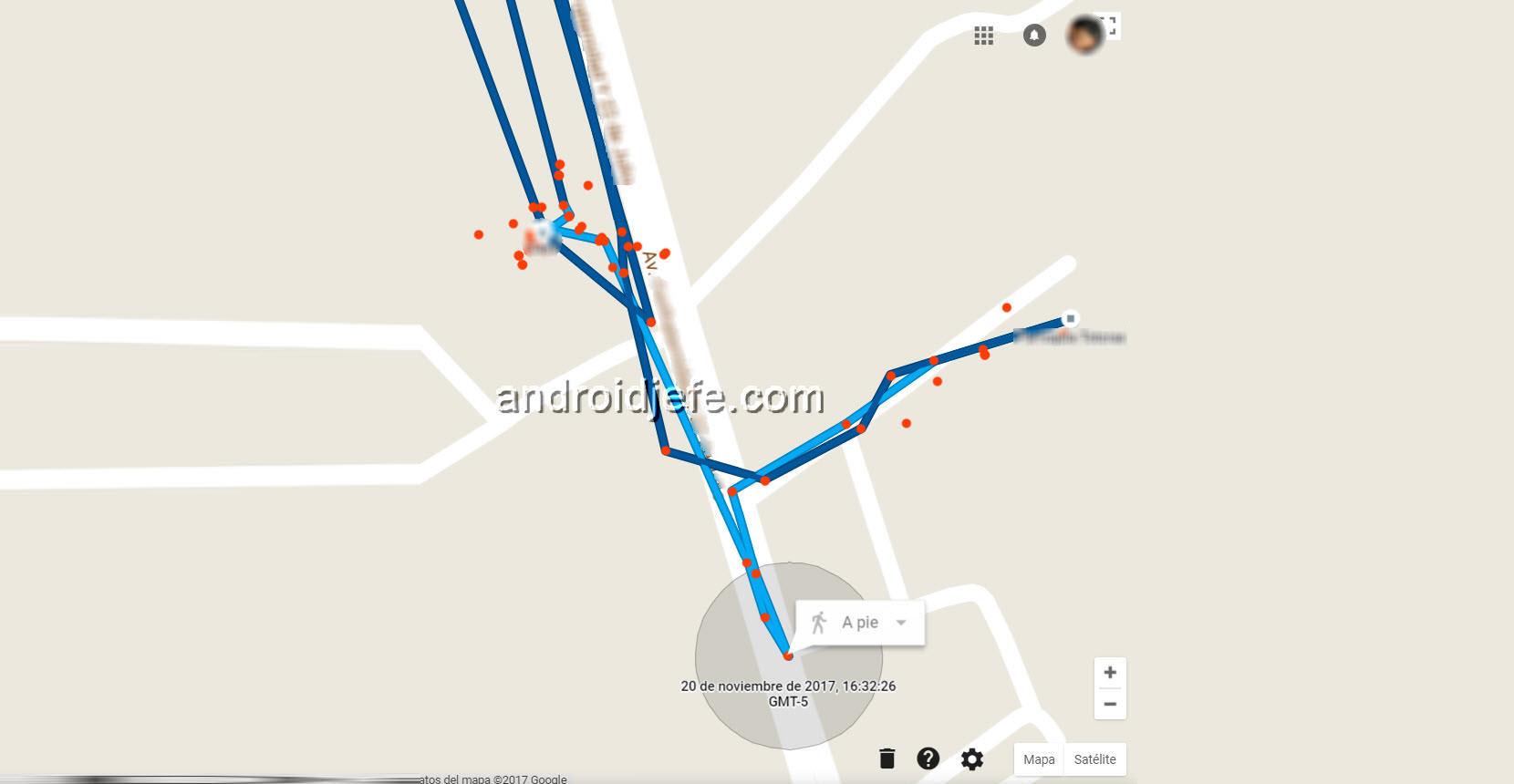 Cómo ver en Google Maps el historial de ubicaciones de tu celular