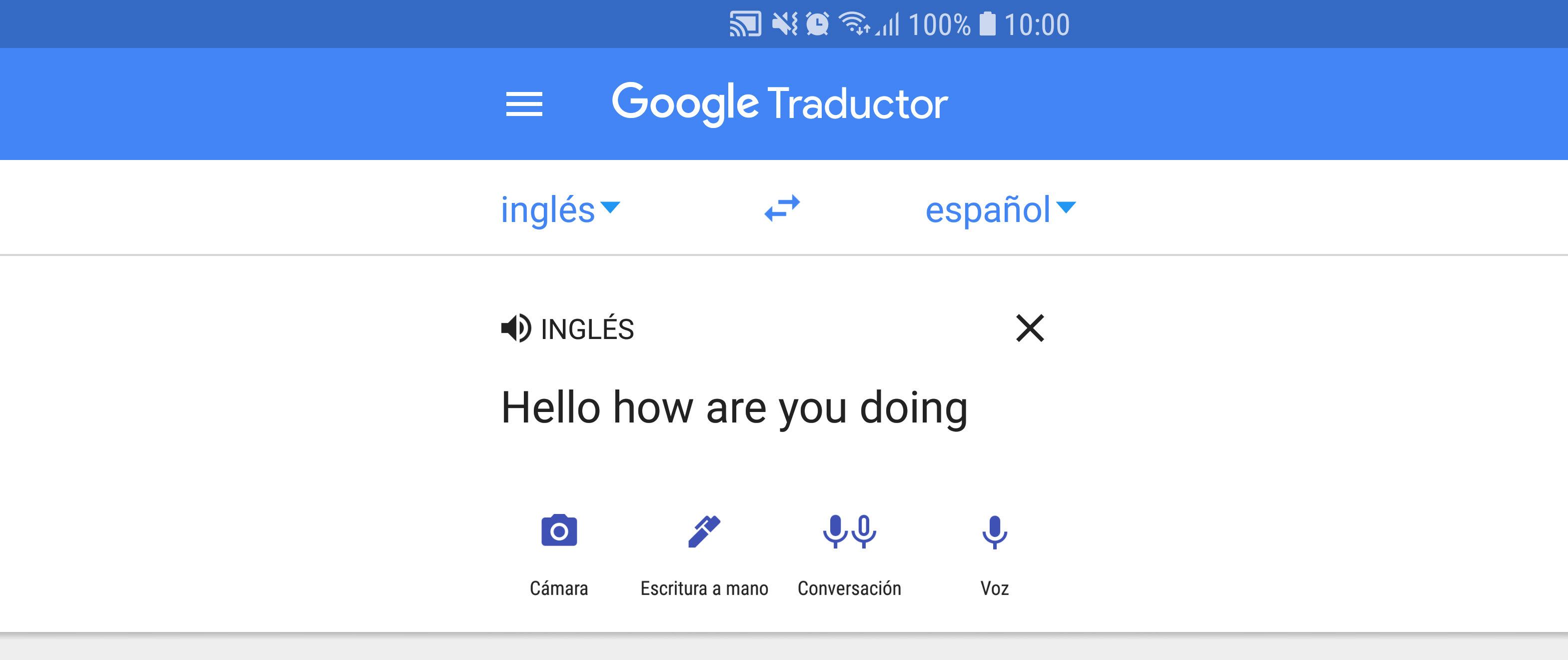 Cómo hacer que el traductor de Google hable más lento