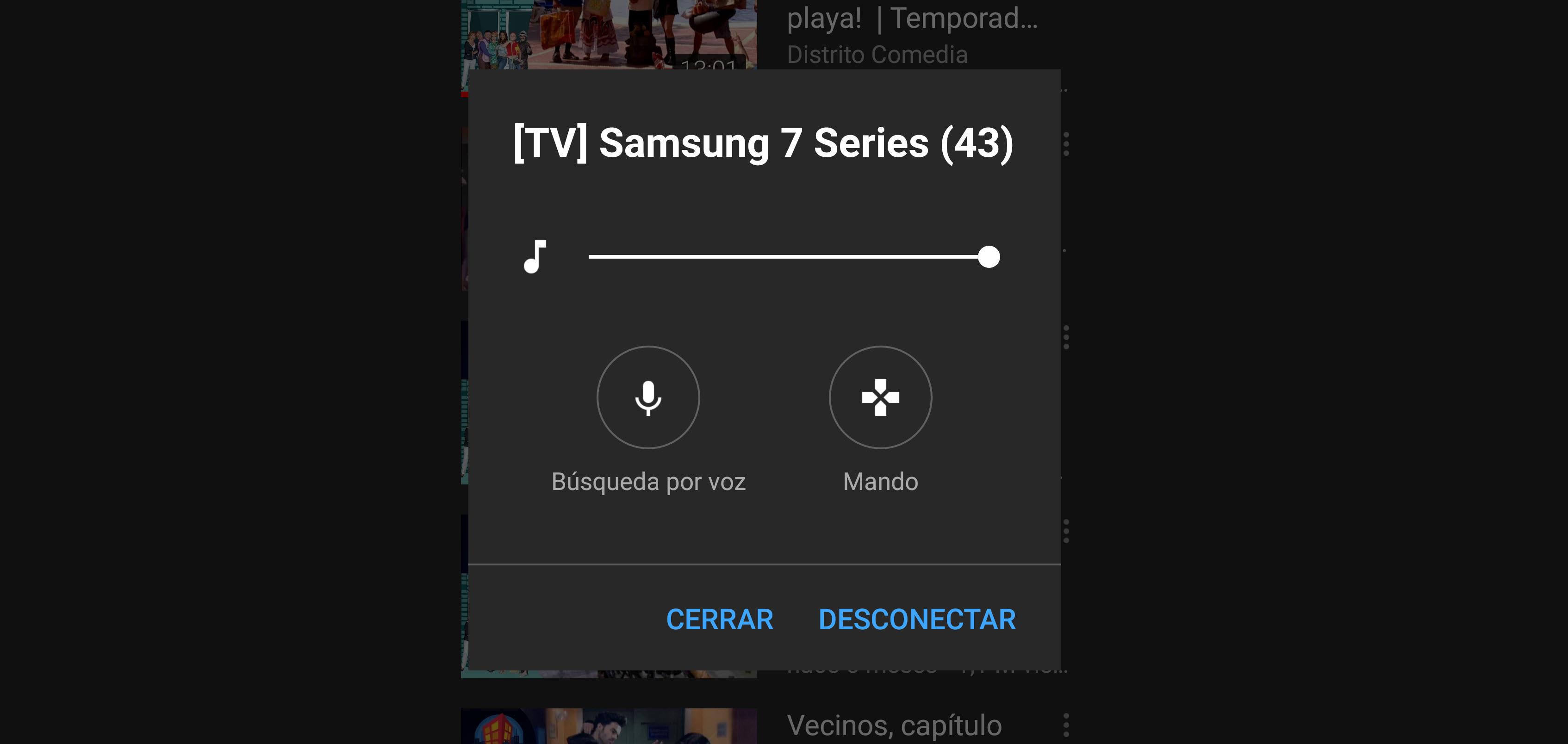 YouTube añade un mando virtual y búsqueda por voz al hacer «casting»
