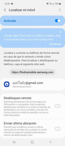 Find my Samsung cell phone