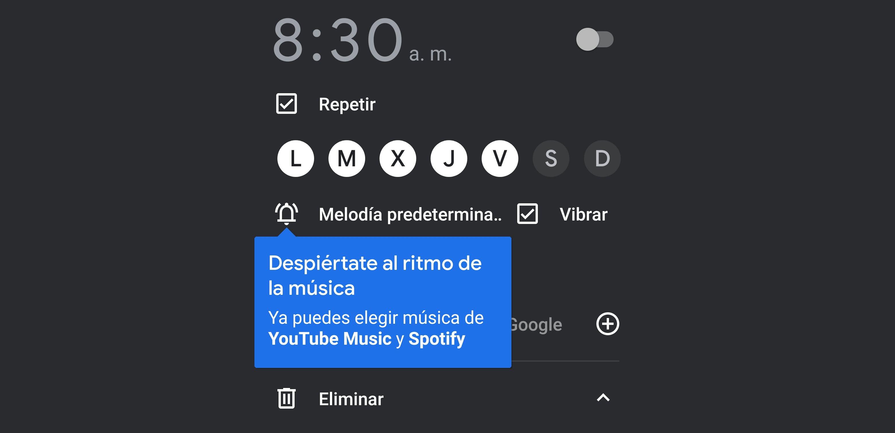 Cómo poner la música de Spotify como alarma