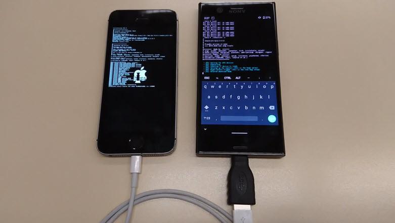 Checkra1n permite hacer jailbreak al iPhone desde un Android rooteado
