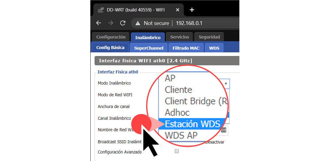 Cómo extender la señal WiFi y lograr «roaming» entre dos routers