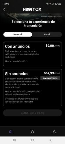 hbo max precios usa