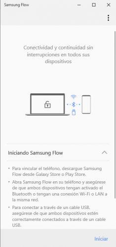Samsung flow how it works