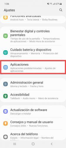 aplicaciones android ajustes