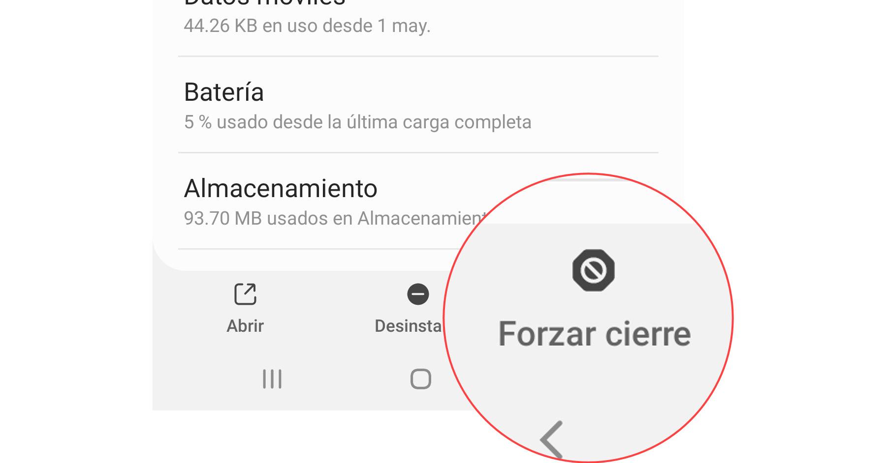 Cómo FORZAR el cierre de una aplicación en Android
