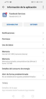 como desactivar aplicaciones en Huawei 2