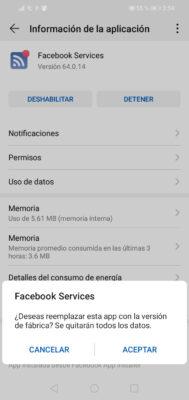 como desactivar aplicaciones en Huawei 4