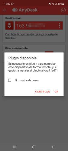 anydesk plugin controlar de forma remota