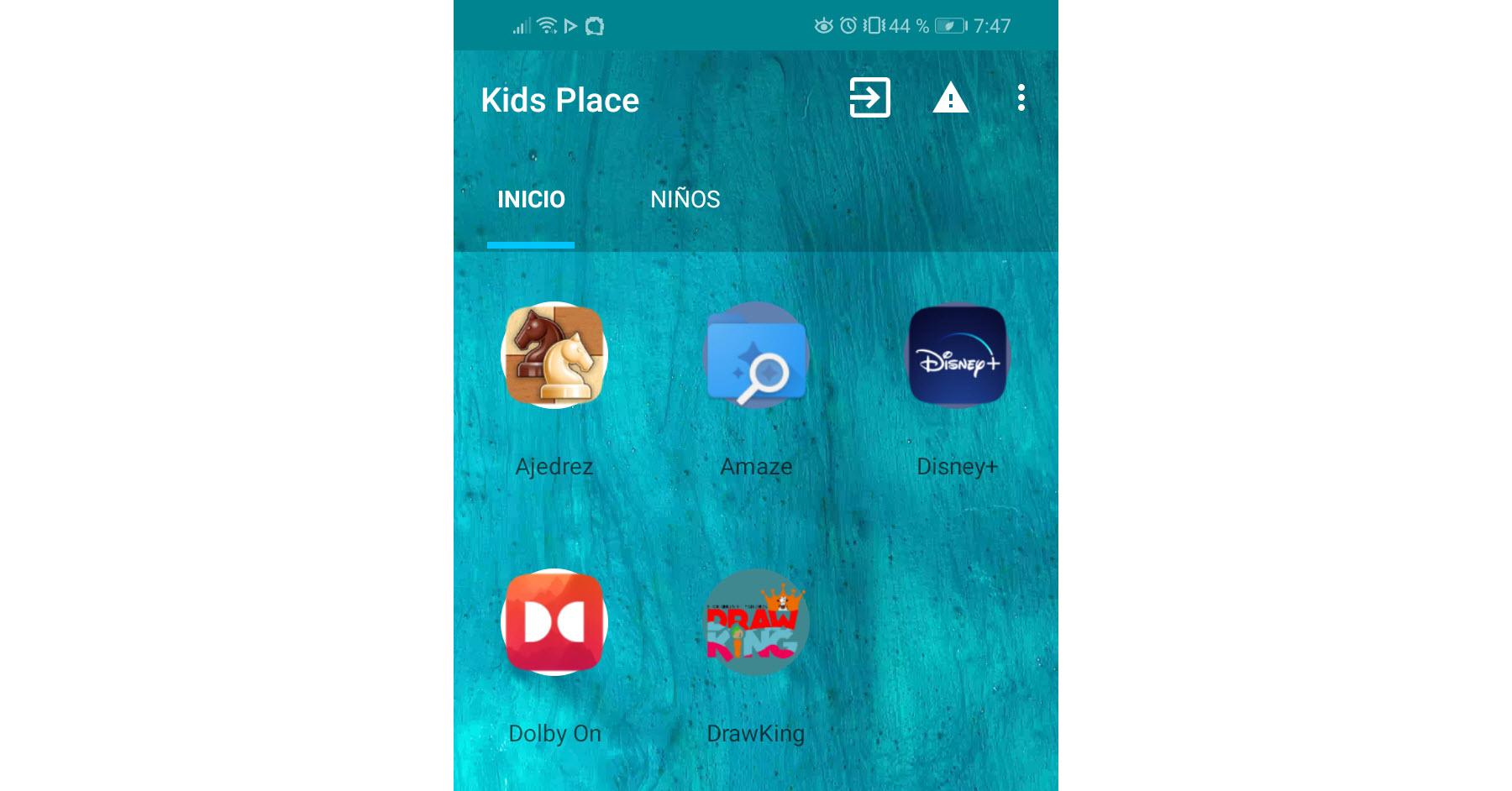 Este launcher para niños restringe las APPS y uso del celular