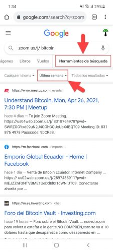 find google zoom appointments