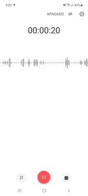 super recorder grabadora de audio android super recorder