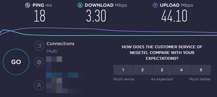 servidor speedtest defectuoso