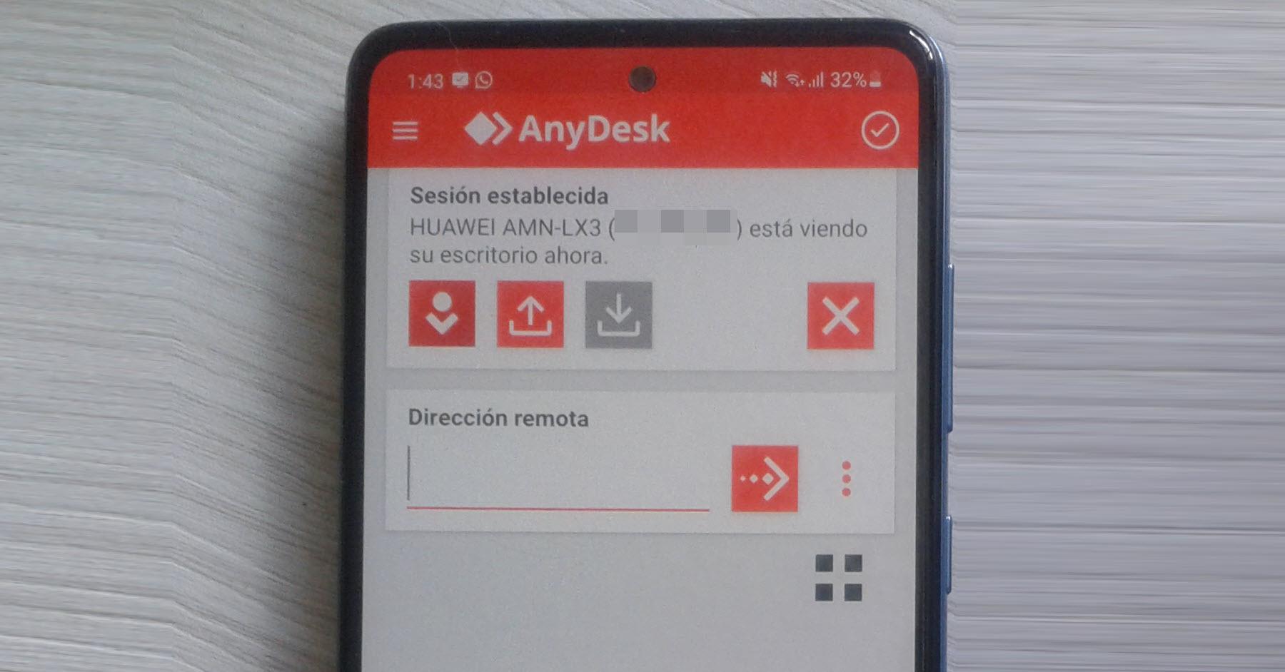 Cómo controlar remotamente un celular  desde otro